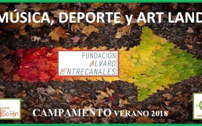 II Edición Campamento de Verano Fundación Álvaro Entrecanales