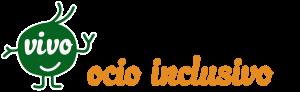 Logotipo Asociación VIVO, ocio inclusivo y tiempo libre con y sin discapacidad, en Madrid